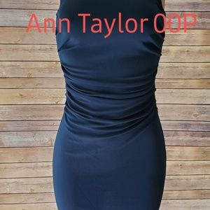 GUC Ann Taylor Dress Petite In Navy Blue Sexy 00P